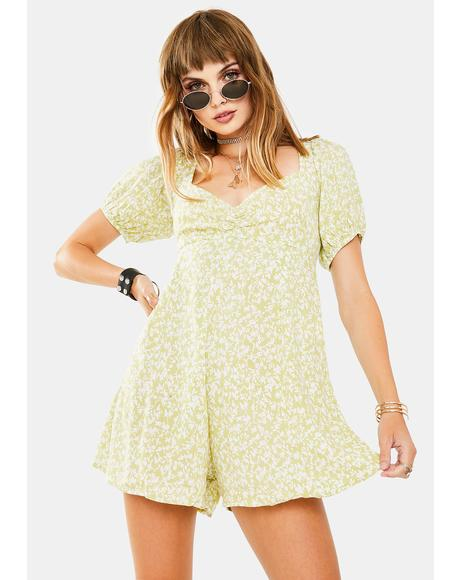 Monali Floral Playsuit