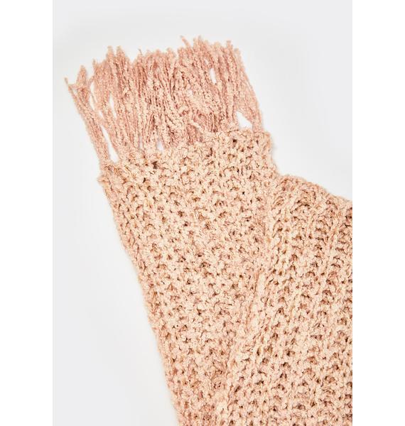 Cozy Memories Knit Scarf