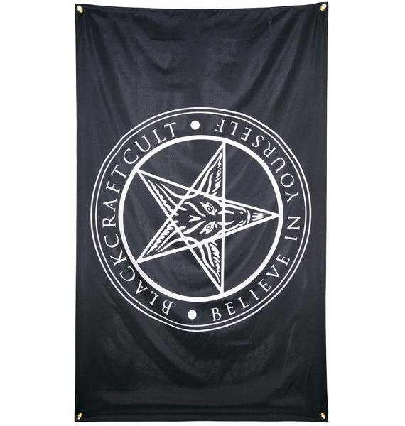 Blackcraft Believe in Yourself Flag