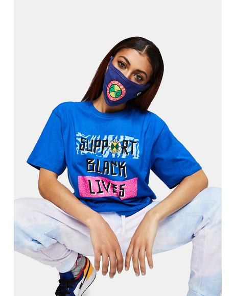 Support Black Lives Face Mask