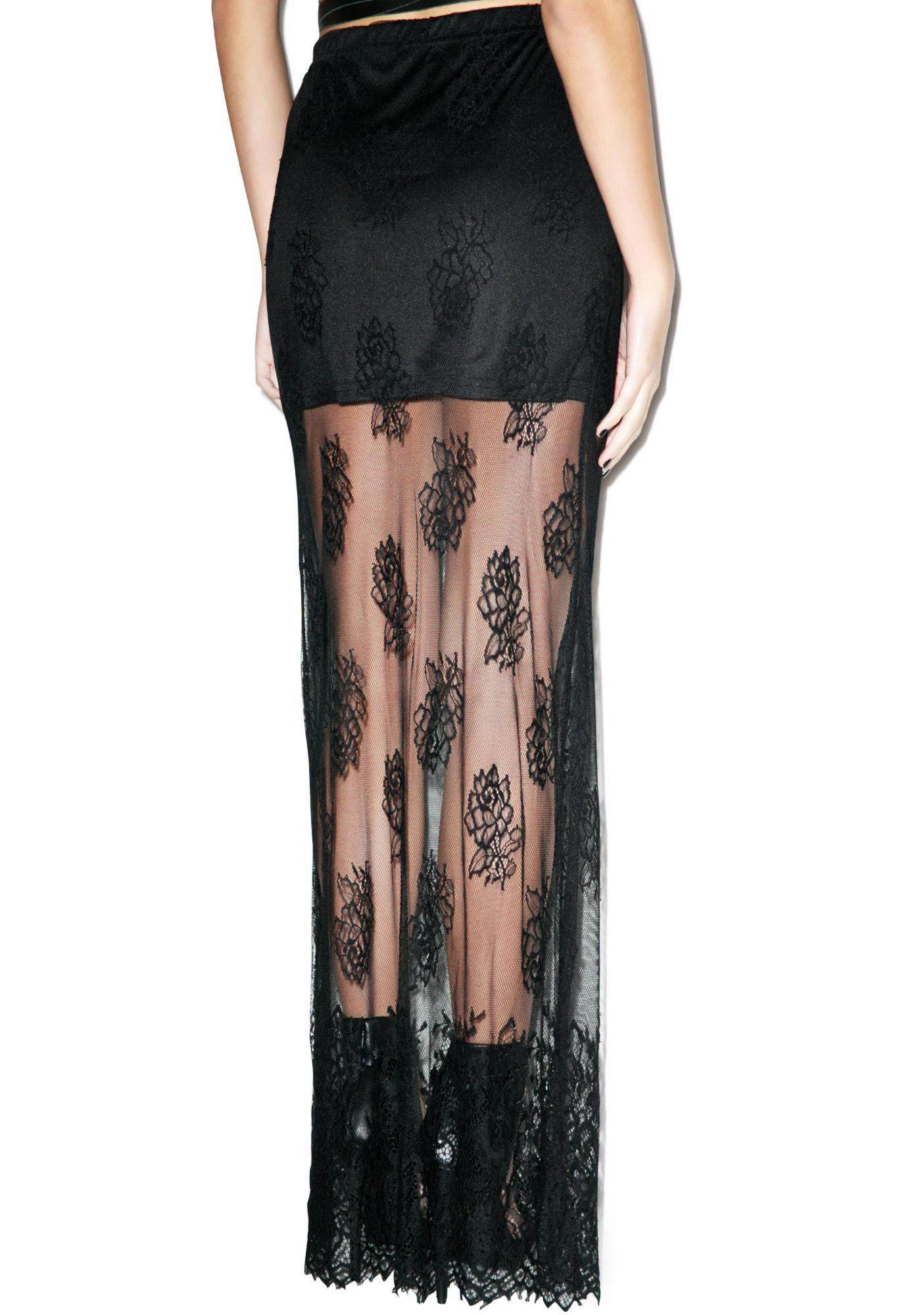Desperado Lace Maxi Skirt