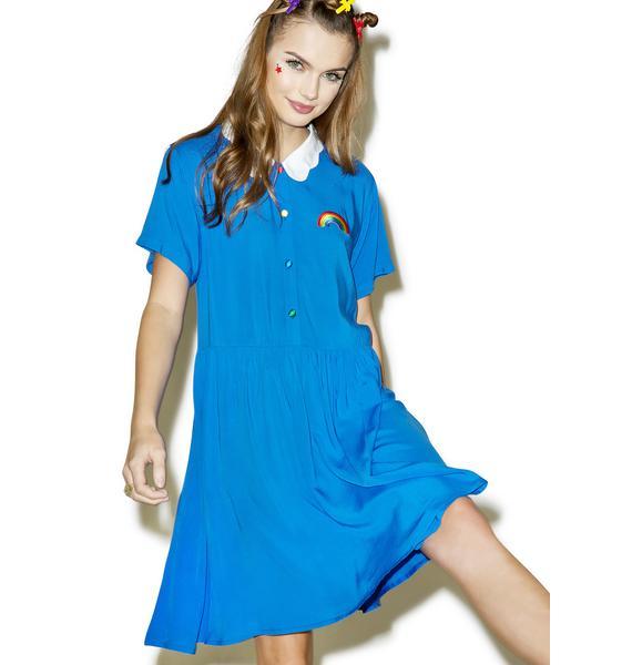 Lazy Oaf Cloud Collar Dress