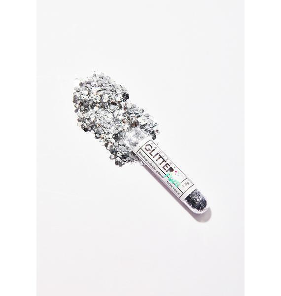Projekt Glitter Silver Biodegradable Glitter Tube