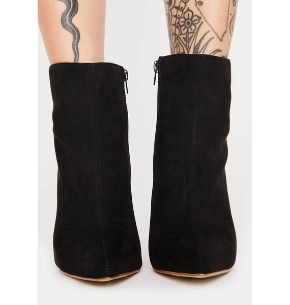 Flutter Kick Heeled Boots