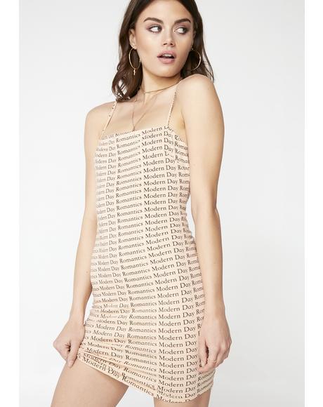 Latte Selah Dress