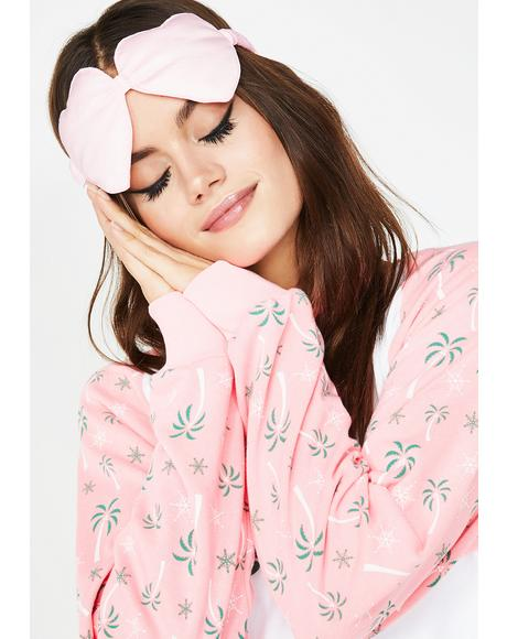Heart Eyes Getaway Eye Mask