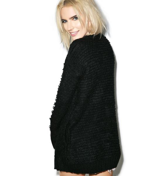 Somedays Lovin Voodoo Shag Knit Coat