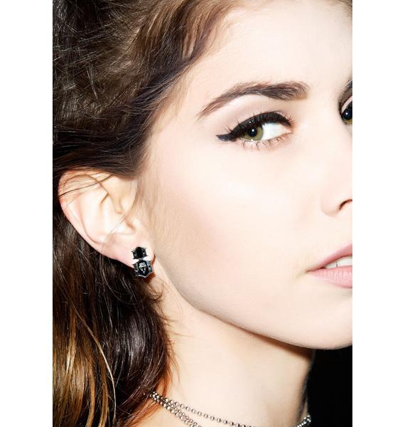 Rebel8 Logo Earrings