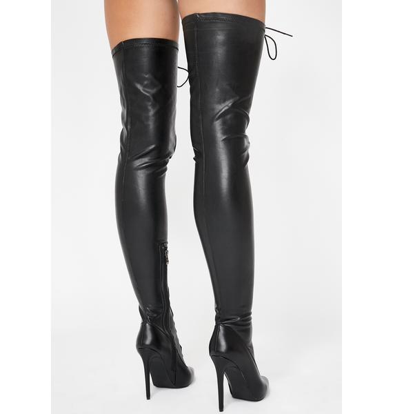 AZALEA WANG World Lace-Up Boots
