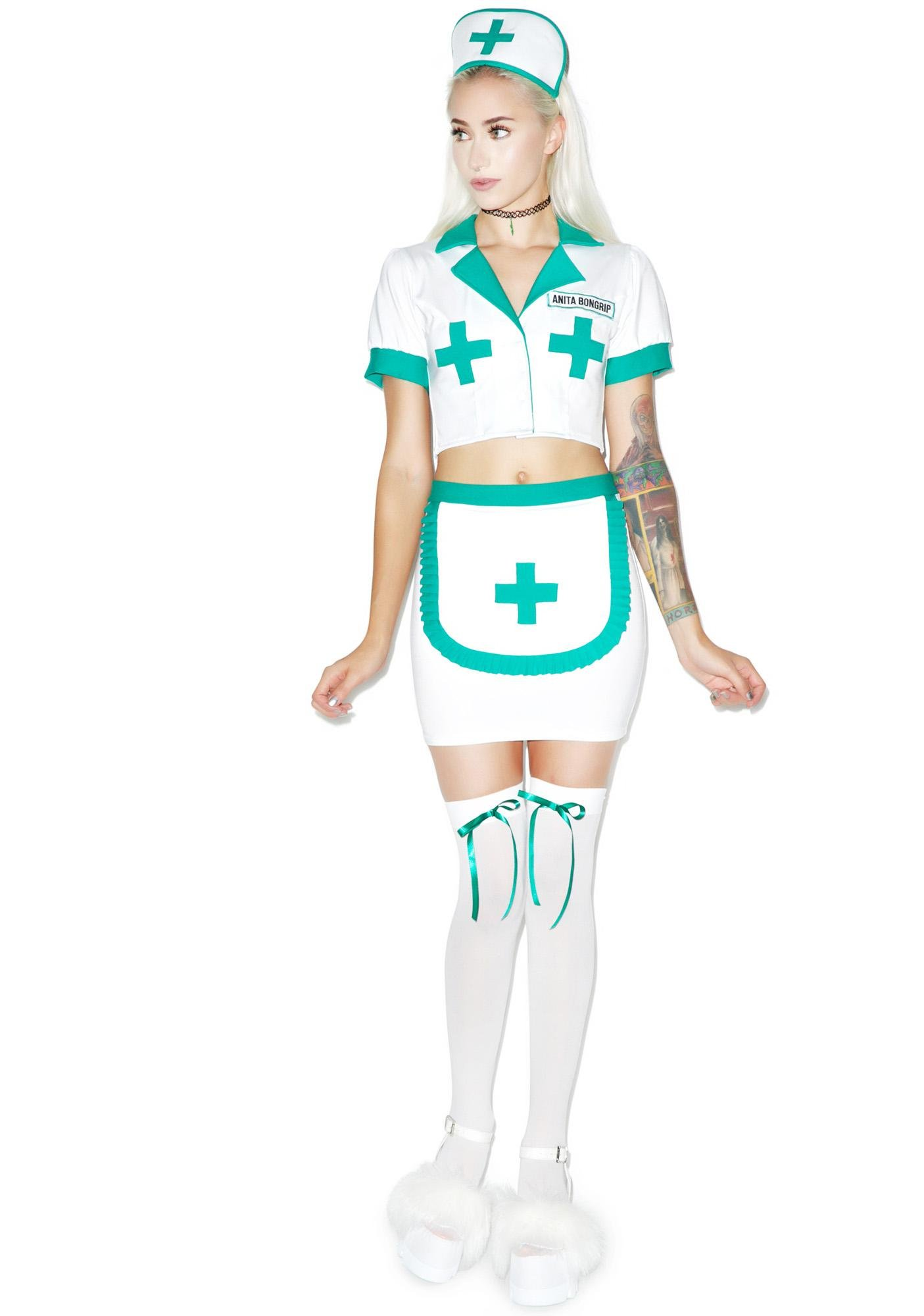 Nurse Anita Bongrip Costume