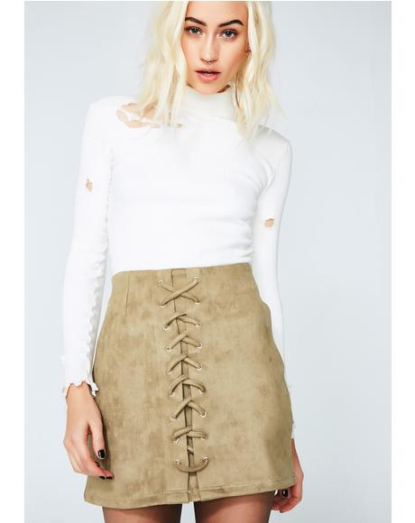 Not Prissy Skirt
