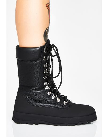 Jill Lace Up Boots