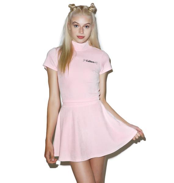 Local Heroes Kitten Velvet Skirt
