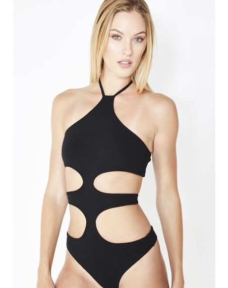 Keeping Secrets Cutout Bodysuit