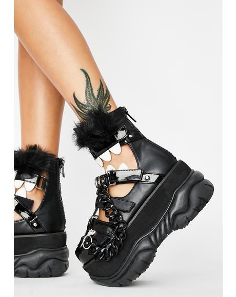 Chomp N' Stomp Platform Sandals