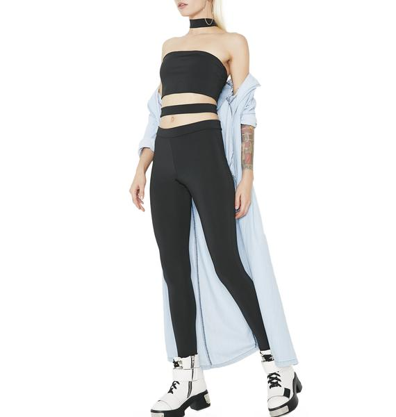 I'm With The Band Cut-Out Jumpsuit