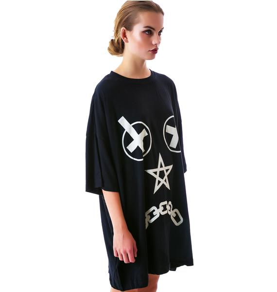 Long Clothing Vex Oversized Tee