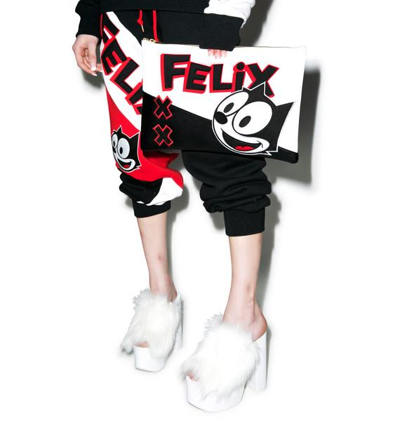 Joyrich Felix Color Block Clutch Bag