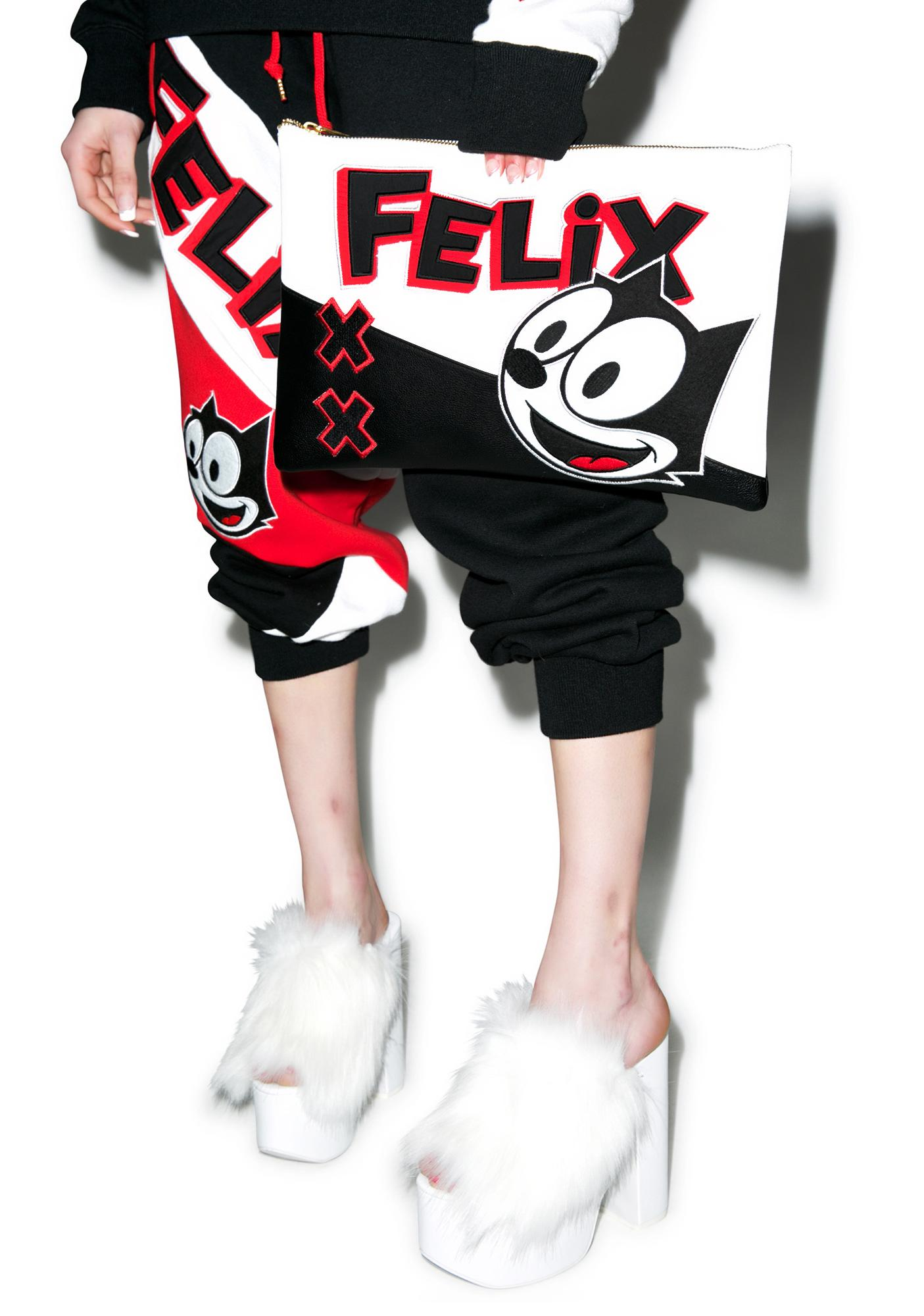 Joyrich Felix Color Block Clutch Bag
