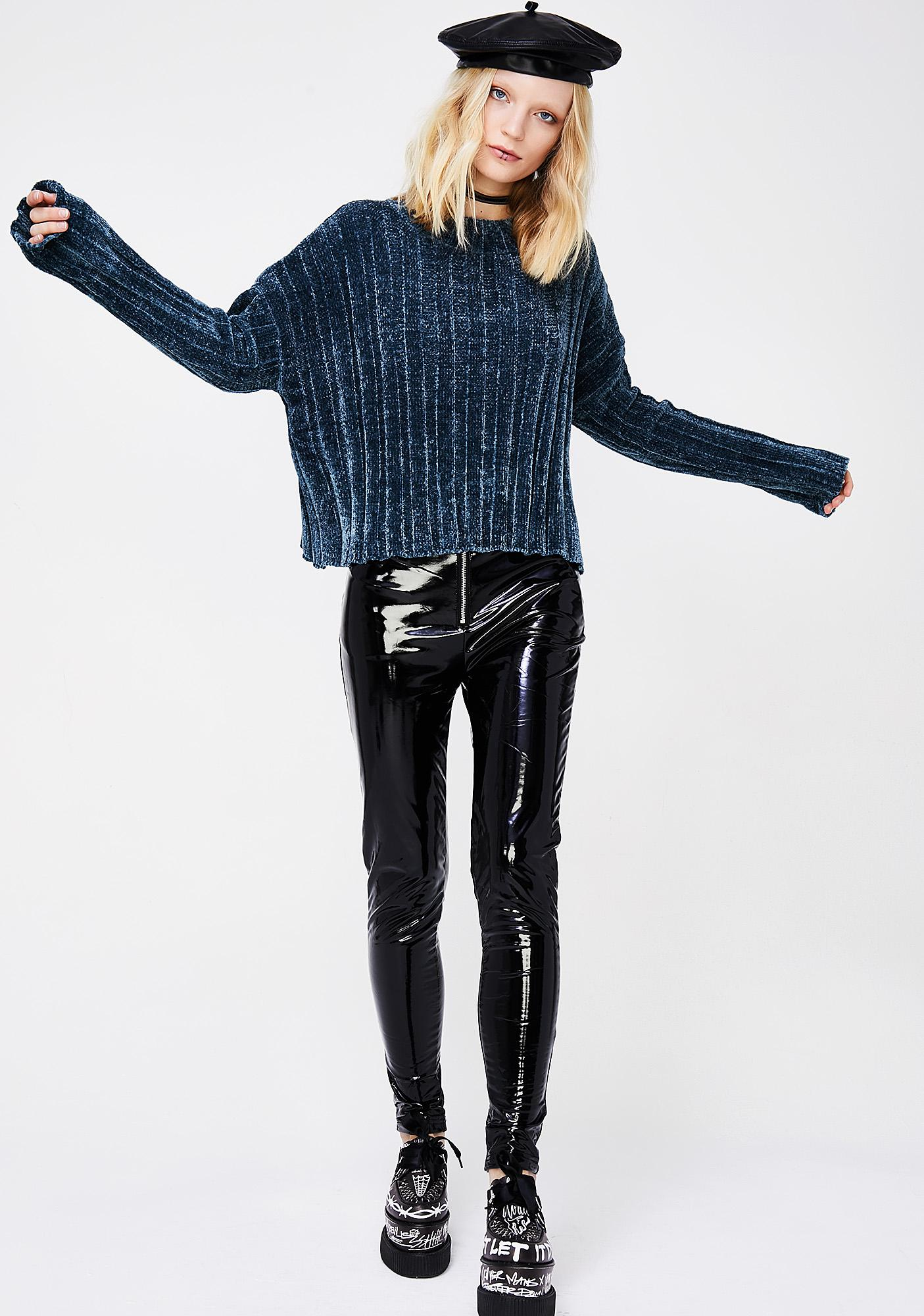Nocturnal Activities Knit Sweater