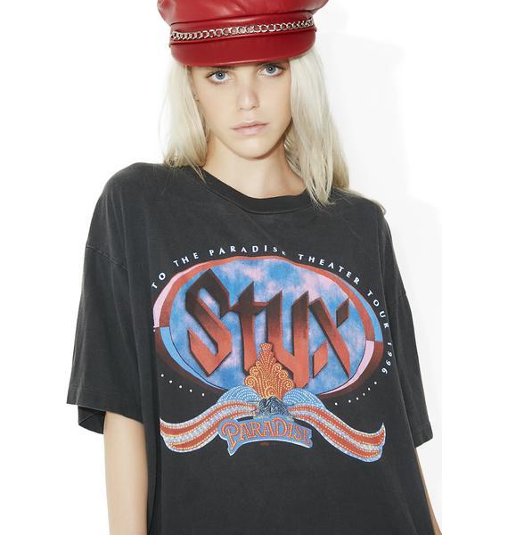 Vintage Styx Tour Tee