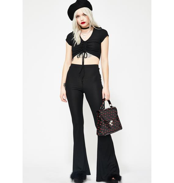 Midnight Beverly Chic Pant Set