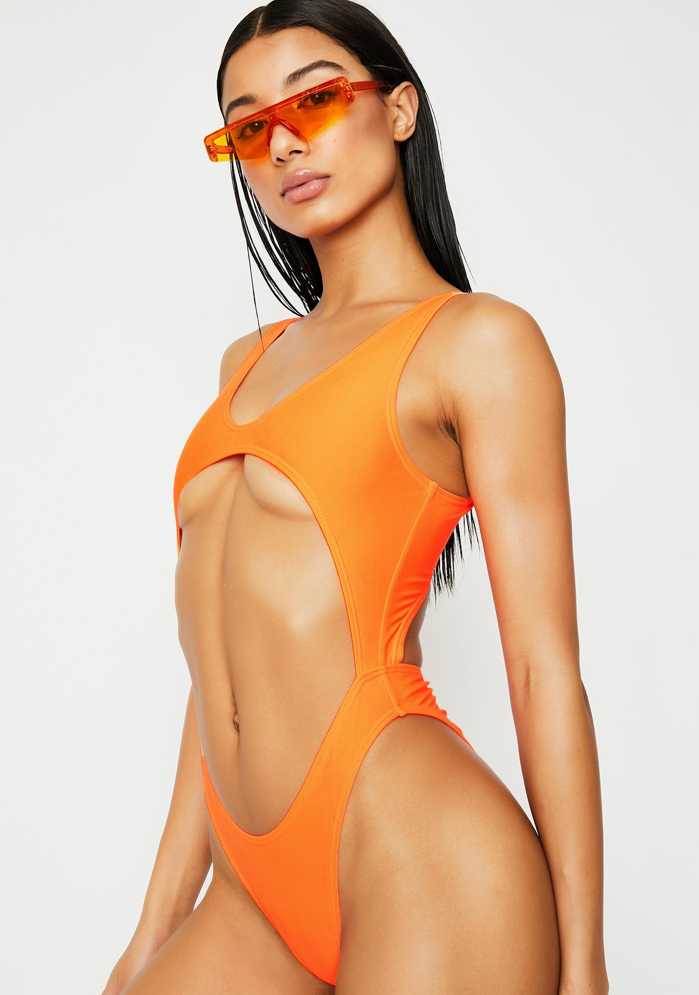 Current Mood Summertime Snack Cut-Out Swimsuit