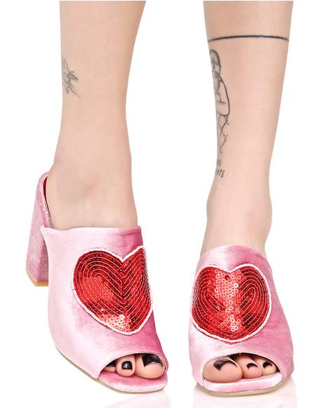 Turkish Delight Slide Heel