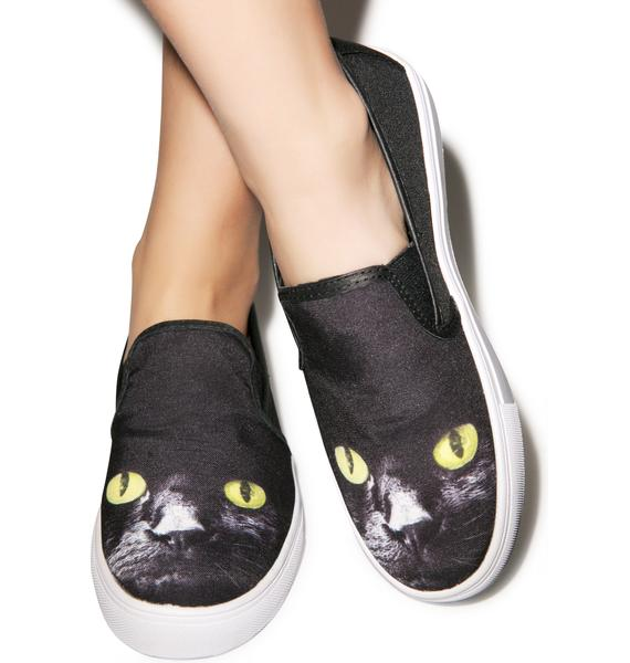 Y.R.U. Chill Kitty Slip-On Sneaker
