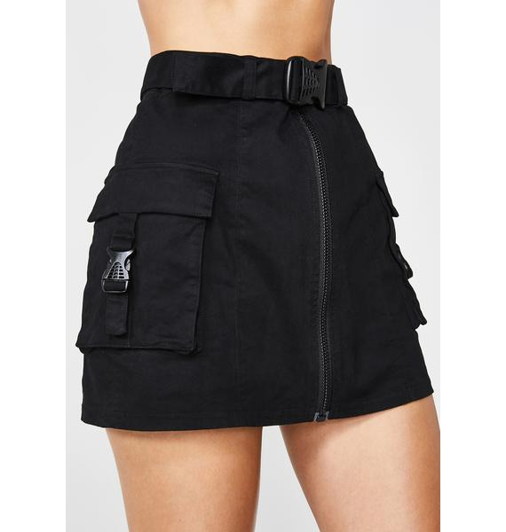 Poster Grl Miss Behaving Cargo Skirt