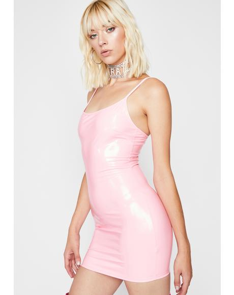 Missed Ur Chance PVC Dress