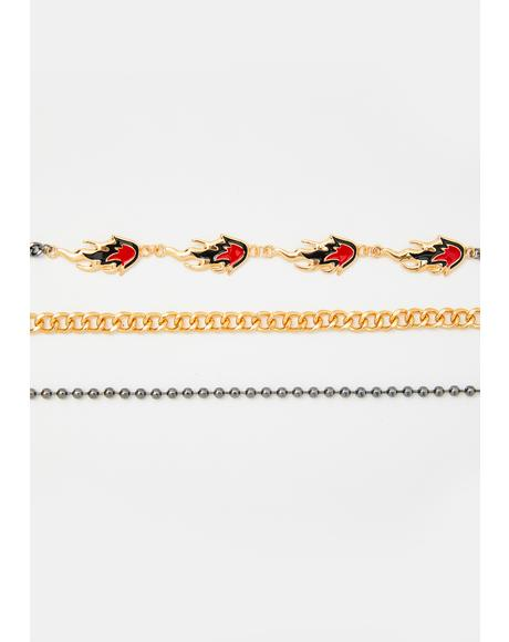 Light 'Em Up Choker Set