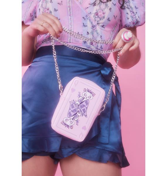 Sugar Thrillz Kitten Me Crossbody Bag