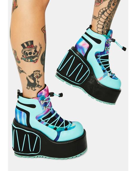 Ultrasonic Overload Platform Sneakers