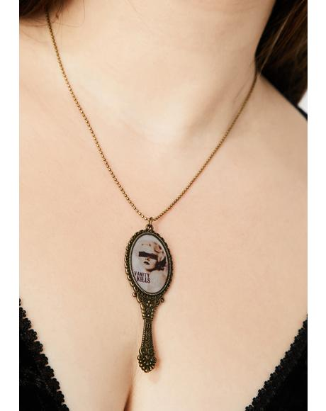 Vanity Kills Mirror Necklace