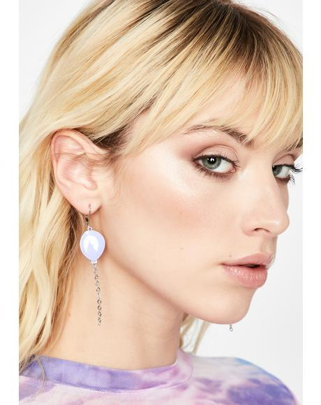 Lift Me Up Chain Earrings