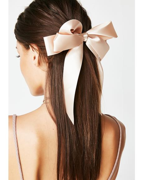 Gold Rush Hair Bow