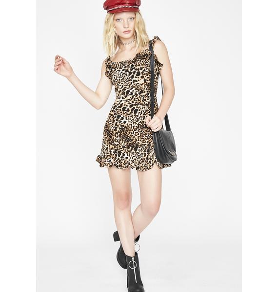 Wanna Play Leopard Dress
