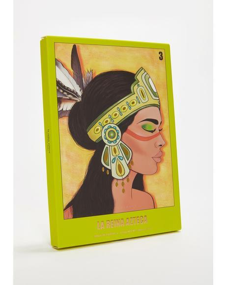 La Reina Azteca Mini Eyeshadow Palette