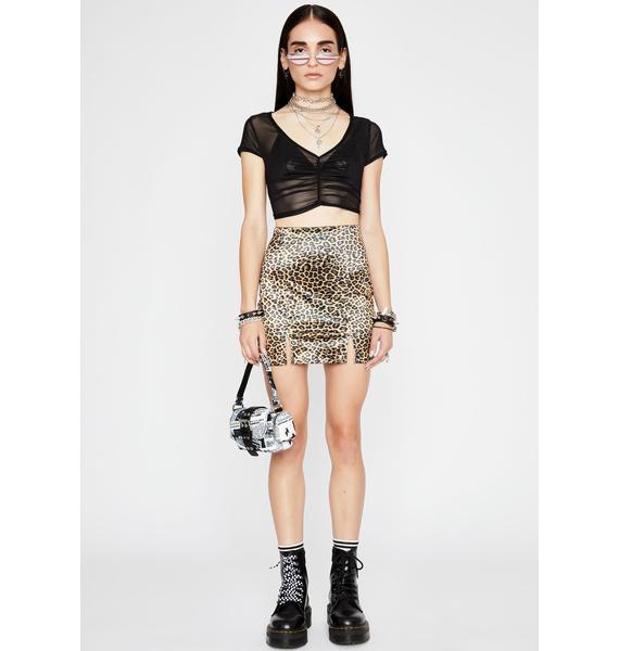 Make Me Purr Mini Skirt