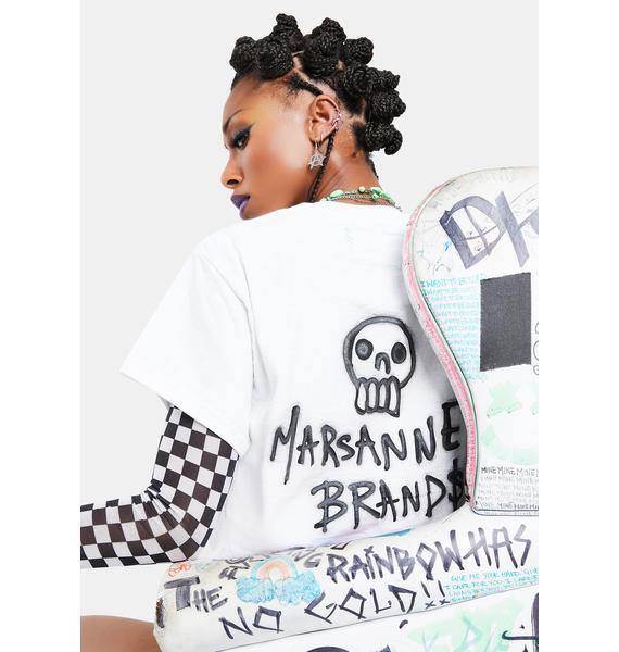 Marsanne Brands Don't Hug Me Graphic Tee