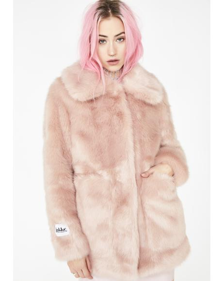 Blush Tammy Coat