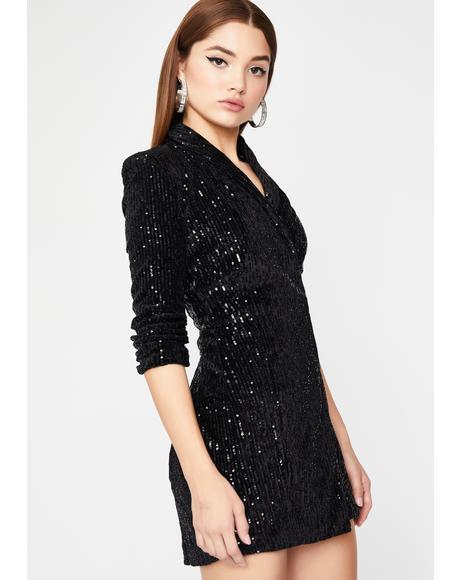 Clout CEO Sequin Dress