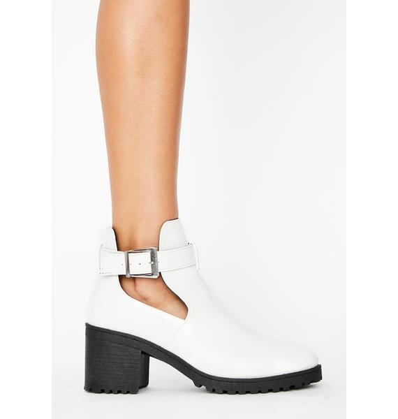 Boo Call It Quits Ankle Booties