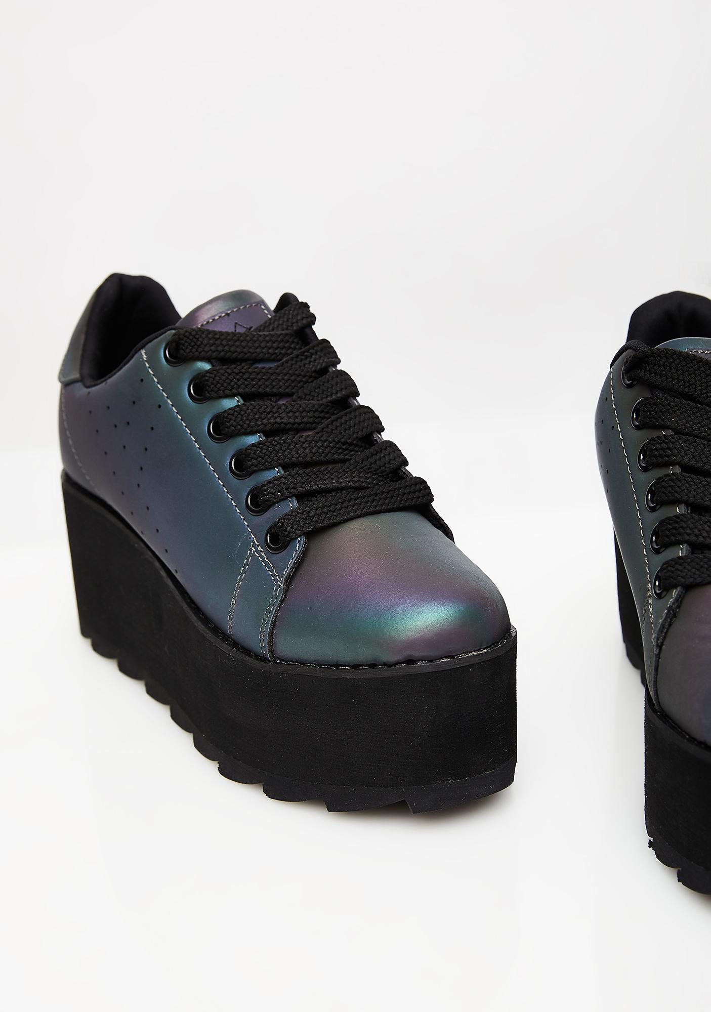 Y.R.U. Break The Cycle Lala Platform Sneakers