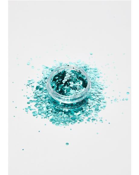 Aqua Trip Bio Chunky Glitter