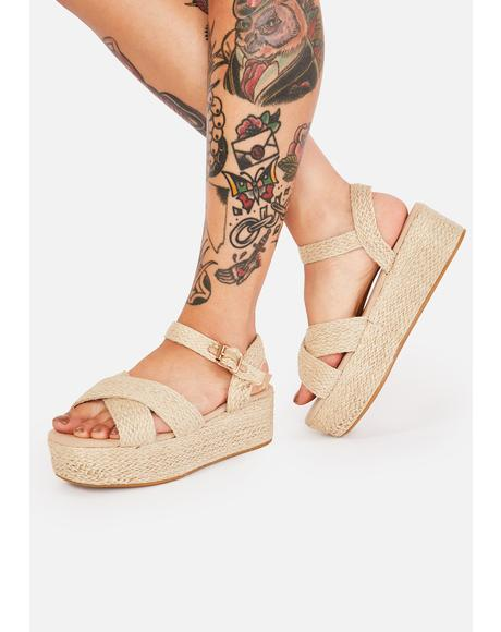 Private Beach Platform Espadrilles
