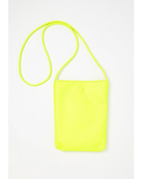 Send It Neon Tote Bag