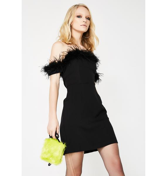 Some Like It Hott Feather Dress