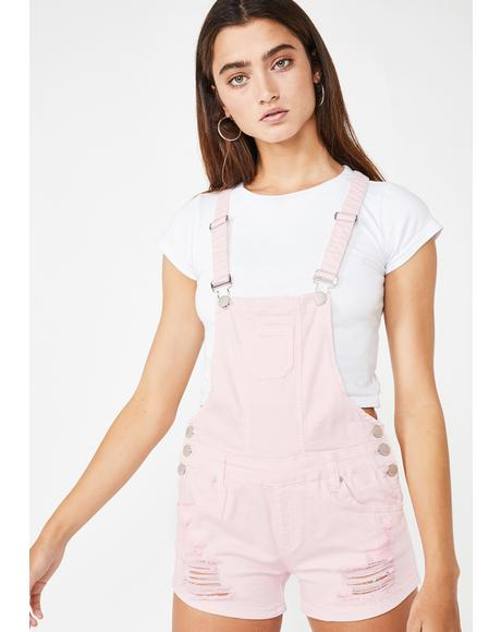Miss Candid Cutie Denim Shortalls